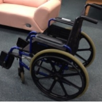 "16"" Wheelchair"