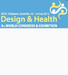 The 9thWorld Congress on Design & Health in Australia 2013